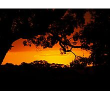 epic sunset Photographic Print