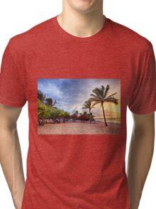Beach Dawn Tri-blend T-Shirt