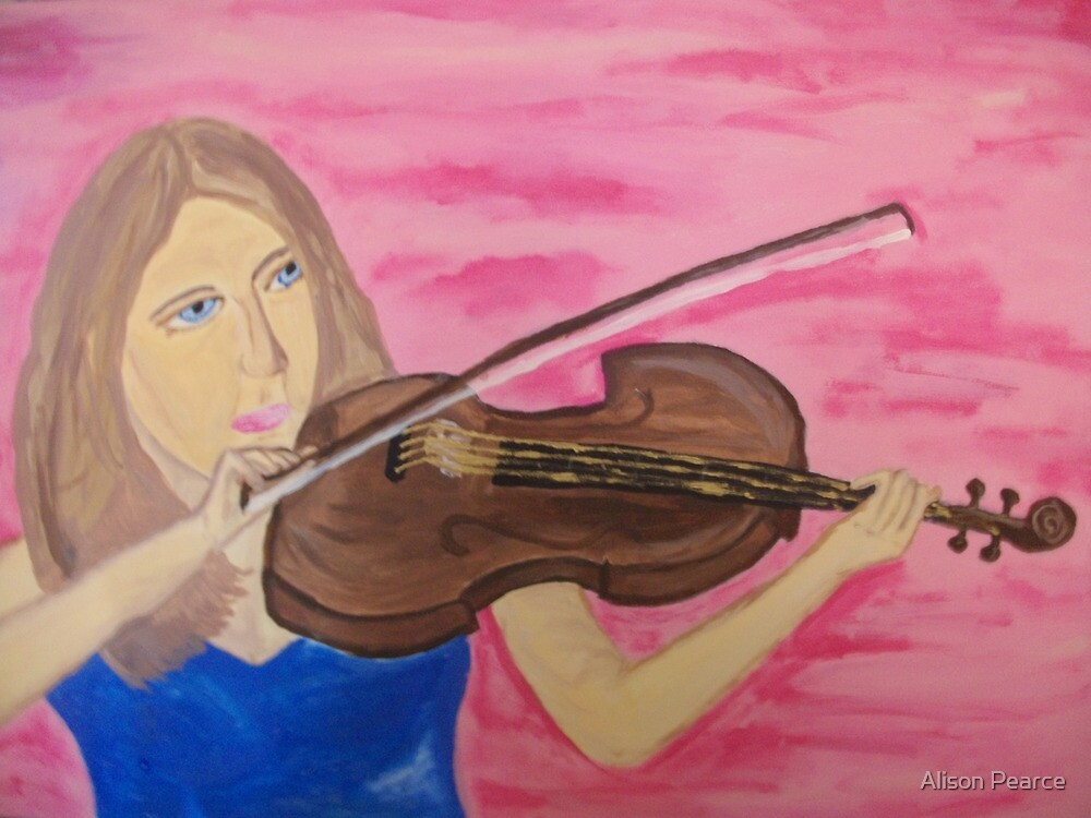 The Violinist by Alison Pearce