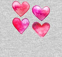 Watercolour Hearts Tank Top