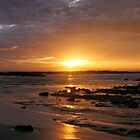 Blanket Bay Sunrise Panorama by Richard Heath