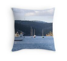 New Town Bay - Hobart Throw Pillow