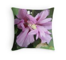 Lilac Flower of China Throw Pillow