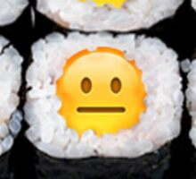 Emoji Sushi Sticker
