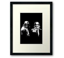 Star Fiction (Pulp Wars) Framed Print