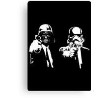 Star Fiction (Pulp Wars) Canvas Print