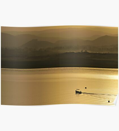 layers of serenity Poster