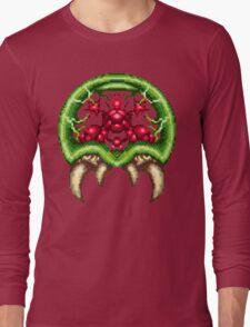 Super Metroid - Giant Metroid Long Sleeve T-Shirt
