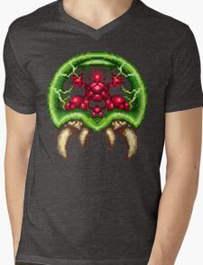 Super Metroid - Giant Metroid Mens V-Neck T-Shirt