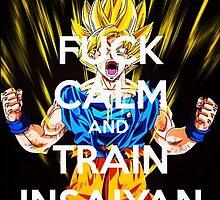 Never keep calm DBZ by basone14