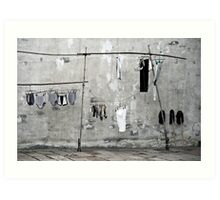 Air your Dirty Laundry Art Print