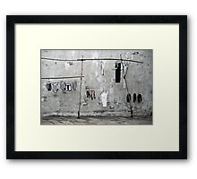 Air your Dirty Laundry Framed Print