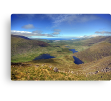 The Connor Pass Metal Print