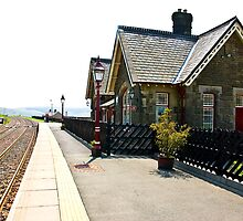 Dent Station - Cumbria by Trevor Kersley