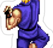 Blue Ken Shoryuken Sticker