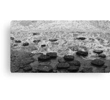 Giant Pebbles Canvas Print