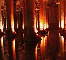 Basilica Cistern - Istanbul by MagicMuppetMan