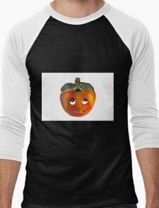 Halloween Pumpkin Men's Baseball ¾ T-Shirt
