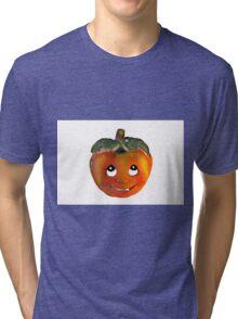 Halloween Pumpkin Tri-blend T-Shirt