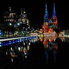 Vivid Sydney 2010 | St. Mary's Cathedral by DavidIori