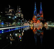Vivid Sydney 2010 | St. Mary's Cathedral by DavidIori