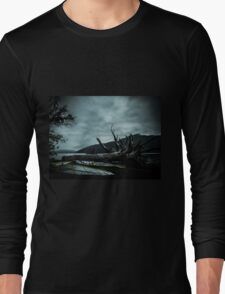 Ghost Surfers Cove Long Sleeve T-Shirt