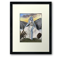 Cloud giant, part of the Giants Series Framed Print