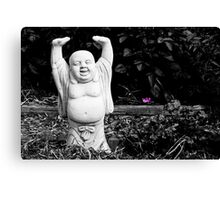 In the garden of happiness Canvas Print