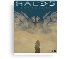 HALO 5 GUARIDANS Canvas Print