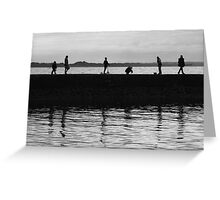 Fascinating silhouettes Greeting Card