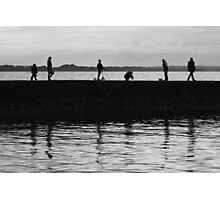 Fascinating silhouettes Photographic Print