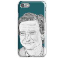Robin Williams Portrait  iPhone Case/Skin