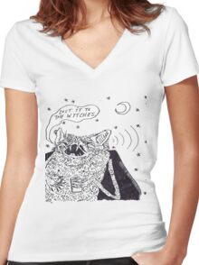 the wytches  Women's Fitted V-Neck T-Shirt