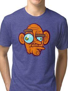 Old Poker Face Tri-blend T-Shirt