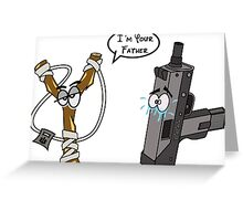 I´m your father Greeting Card