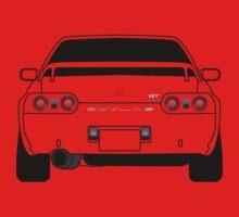 Nissan GTR R32 Black Kids Tee