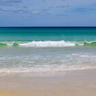 Beach panorama by Lorraine Seipel