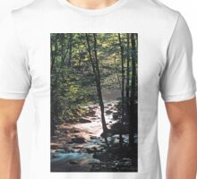 MISTY MOUNTAIN STREAM Unisex T-Shirt