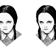 Wednesday Addams by BlackCultDesign