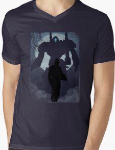 Propaganda Jaeger 2/5 Mens V-Neck T-Shirt