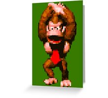 Donkey Kong Country - Cheer Greeting Card