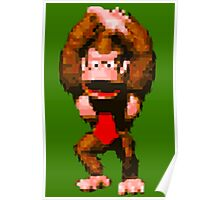 Donkey Kong Country - Cheer Poster