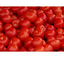 Market: Tomatoes Photographic Print