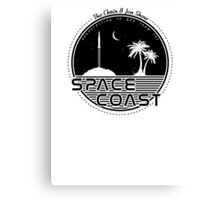 Chris and Jen Show - Space Coast - Black Canvas Print