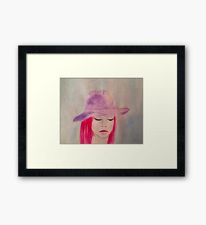 zone  Framed Print