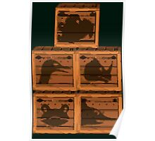 Donkey Kong Country - Animal Crates Poster