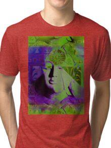 5719pg Buddha Tri-blend T-Shirt