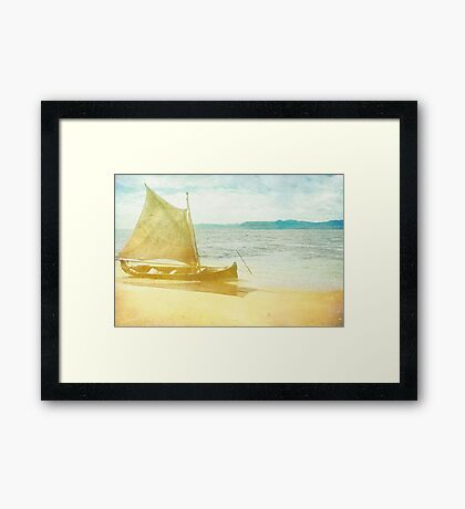 From a Summer Past Framed Print