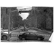 Vernon Blvd-Queens NY Poster