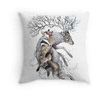 protect our wildlife  Throw Pillow